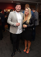 Pictured: Michael Eames<br /> Re: Swansea City FC Christmas party at the Liberty Stadium, south Wales, UK.