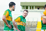 John Buckley, Kerry and Shane Conway, Kerry after the Joe McDonagh hurling cup fourth round match between Kerry and Carlow at Austin Stack Park on Saturday.