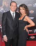 Jennifer Grey and Clark Gregg at Marvel's The Avengers World Premiere held at The El Capitan Theatre in Hollywood, California on April 11,2012                                                                               © 2012 DVS/Hollywood Press Agency