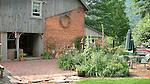 Seeling farm, Trout Run, PA. .Garden and patio