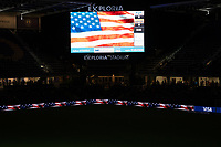 ORLANDO CITY, FL - FEBRUARY 18: Exploria Stadium prior to a game between Canada and USWNT at Exploria stadium on February 18, 2021 in Orlando City, Florida.
