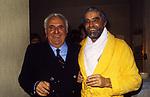"""VITTORIO GASSMAN CON ADOLFO CELI -  PREMIERE """"OTELLO""""  TEATRO QUIRINO 1982"""