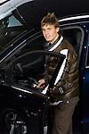 MADRID (08/11/2010).- Real Madrid players recieve new cars from Audi, team Sponsor. Sergio Canales...Photo: Cesar Cebolla / ALFAQUI