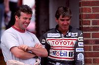 1996 British Touring Car Championship. Derek Warwick and Julian Bailey.