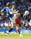 30/05/2009  Copyright  Pic : James Stewart.sct_jspa_31_rangers_v_falkirk.SASA PAPAC BLOCKES MICHAEL HIGDON.James Stewart Photography 19 Carronlea Drive, Falkirk. FK2 8DN      Vat Reg No. 607 6932 25.Telephone      : +44 (0)1324 570291 .Mobile              : +44 (0)7721 416997.E-mail  :  jim@jspa.co.uk.If you require further information then contact Jim Stewart on any of the numbers above.........