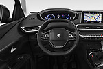 Car pictures of steering wheel view of a 2018 Peugeot 3008 Allure 5 Door SUV