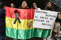 17.11.2019 - Ato em solidariedade ao povo Boliviano em SP