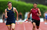 Kings College. Auckland Secondary Schools Athletic Championships, Mt Smart Stadium, Auckland, Tuesday 30 March 2021. Photo: Simon Watts/www.bwmedia.co.nz