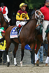 June 5 2010. Discreetly Mine in the Woody Stephens Stakes at Belmont Park in Elmont, NY...