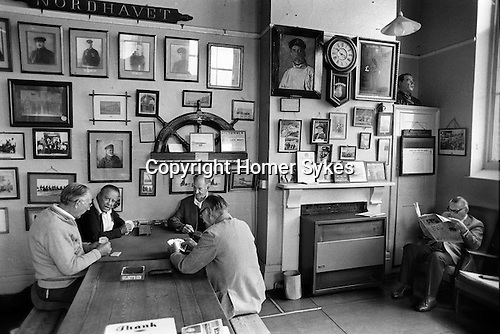 Sailors Reading Room  Southwold  Suffolk. UK. 1984.