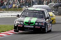 Round 10 of the 2005 British Touring Car Championship. #21. Rob Collard (GBR). West Surrey Racing. MG ZS.