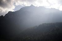 towards the Cervinia climb (2001m)<br /> <br /> Giro d'Italia 2015<br /> stage 19: Gravellona Toce - Cervinia (236km)