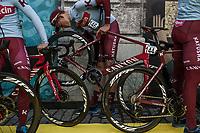 Nils Politt (GER/Katusha Alpecin) pre race <br /> <br /> 103rd Ronde van Vlaanderen 2019<br /> One day race from Antwerp to Oudenaarde (BEL/270km)<br /> <br /> ©kramon