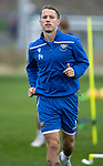 St Johnstone Training…27.09.19<br />Stevie May pictured during training this morning at McDiarmid Park ahead of tomorrow's game against Motherwell.<br />Picture by Graeme Hart.<br />Copyright Perthshire Picture Agency<br />Tel: 01738 623350  Mobile: 07990 594431