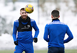 St Johnstone Training…. 15.01.21<br />Shaun Rooney and Michael O'Halloran pictured during training at McDiarmid Park ahead of tomorrows game against St Mirren<br />Picture by Graeme Hart.<br />Copyright Perthshire Picture Agency<br />Tel: 01738 623350  Mobile: 07990 594431