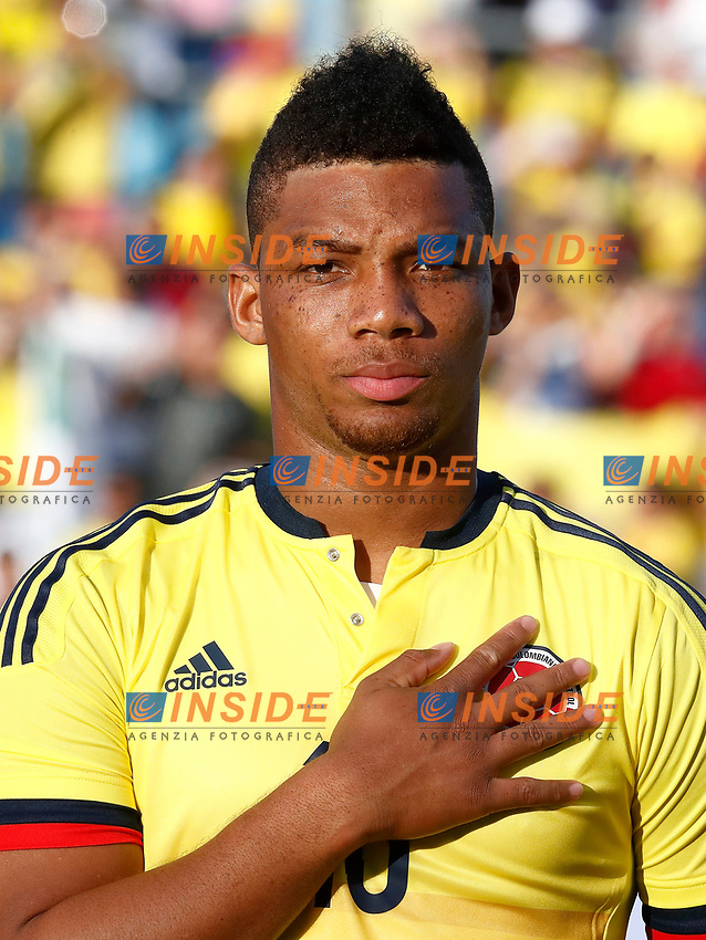 Colombia's Frank Fabra during international friendly match. June 13,2017.(ALTERPHOTOS/Acero/Insidefoto)<br /> Camerun - Colombia <br /> Foto Acero/Alterphotos/Insidefoto <br /> ITALY ONLY
