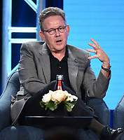 """PASADENA, CA - JANUARY 13: Creator/Executive Producer John Logan attends the panel for """"Penny Dreadful: City of Angels"""" during the Showtime presentation at the 2020 TCA Winter Press Tour at the Langham Huntington on January 13, 2020 in Pasadena, California. (Photo by Frank Micelotta/PictureGroup)"""