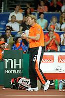 22-9-06,Leiden, Daviscup Netherlands-Tsjech Republic, Captain Tjerk Bogtstra