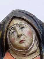 Maria, unbekannter Meister 1500-1520, Museum im alten Rathaus, Bardejov, Presovsky kraj, Slowakei, Europa<br /> Maria, unknown master 1500-1520, museum old Townhall, Bardejov, Presovsky kraj, Slovakia, Europe