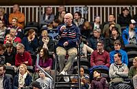 Alphen aan den Rijn, Netherlands, December 16, 2018, Tennispark Nieuwe Sloot, Ned. Loterij NK Tennis, Final men: Umpire Rob Mulder (NED)<br /> Photo: Tennisimages/Henk Koster