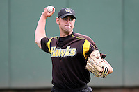 June 13th 2008:  Pitcher Jeff Dietz of the South Bend Silver Hawks, Class-A affiliate of the Arizona Diamondbacks, during a game at Stanley Coveleski Regional Stadium in South Bend, IN.  Photo by:  Mike Janes/Four Seam Images