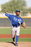Sugar Ray Marimon - Kansas City Royals, 2009 Instructional League.Photo by:  Bill Mitchell/Four Seam Images..