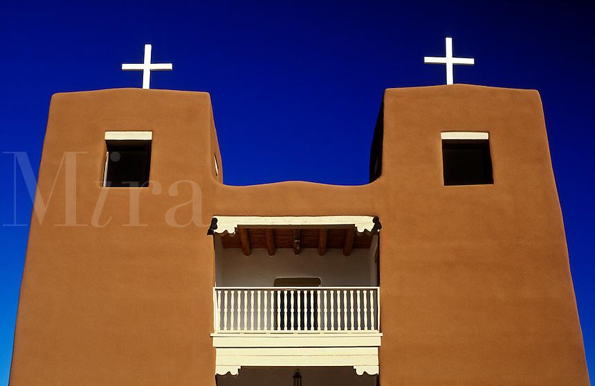 USA, New Mexico, Nambe, Sacred Heart Catholic Church