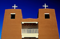 USA, New Mexico, Nambe, Sacred Heart Catholic Church