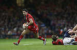 Wales scrum half Mike Phillips makes a break.<br /> RBS 6 Nations 2014<br /> Wales v Scotland<br /> Millennium Stadium<br /> <br /> 15.03.14<br /> <br /> ©Steve Pope-SPORTINGWALES