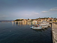 The village of Kassiopi in Corfu, Greece. Thursday 03 September 2020