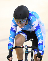 153 at the BikeNZ Elite & U19 Track National Championships, Avantidrome, Home of Cycling, Cambridge, New Zealand, Sunday, March 16, 2014. Credit: Dianne Manson