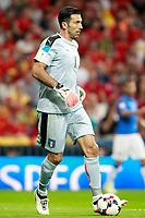 Italy's Gianluigi Buffon during FIFA World Cup 2018 Qualifying Round match. September 2,2017.(ALTERPHOTOS/Acero)