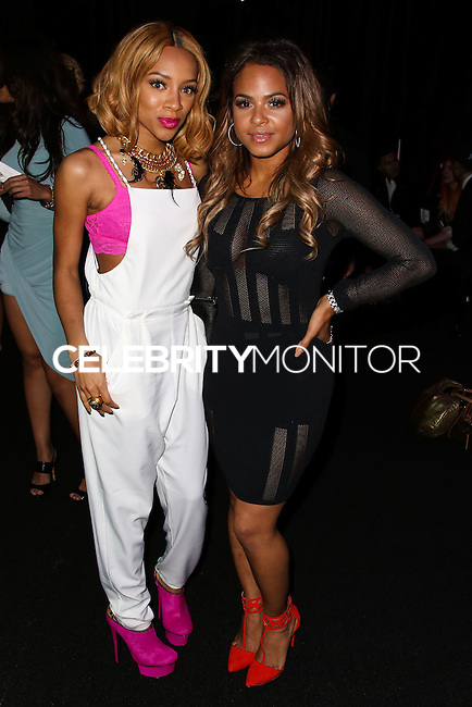 LOS ANGELES, CA, USA - MARCH 14: Lil' Mama, Christina Milian at the Style Fashion Week Los Angeles 2014 7th Season - Day 5 held at L.A. Live Event Deck on March 14, 2014 in Los Angeles, California, United States. (Photo by Xavier Collin/Celebrity Monitor)