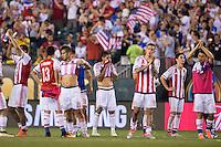 Action photo during the match USA vs Paraguay at Lincoln Financial Field, Copa America Centenario 2016. ---Foto  de accion durante el partido USA vs Paraguay, En el Lincoln Financial Field, Partido Correspondiante al Grupo - D -  de la Copa America Centenario USA 2016, en la foto: BENITEZ