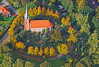 St. Nikolai Kirche Hamburg Moorfleet: EUROPA, DEUTSCHLAND, HAMBURG 09.10.2008: St. Nikolai Kirche Hamburg Moorfleet