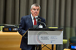 General Assembly Seventy-first session High-level plenary meeting on addressing large movements of refugees and migrants.<br /> <br /> <br /> IOC