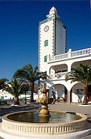 Spanien, Kanarische Inseln, Lanzarote, Rathaus in San Bartolome