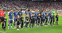 Houston, TX - Tuesday June 21, 2016: Escort Kids prior to a Copa America Centenario semifinal match between United States (USA) and Argentina (ARG) at NRG Stadium.
