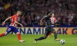 Victor Moses of Chelsea FC in action during the UEFA Champions League 2017-18 match between Atletico de Madrid and Chelsea FC at the Wanda Metropolitano on 27 September 2017, in Madrid, Spain. Photo by Diego Gonzalez / Power Sport Images