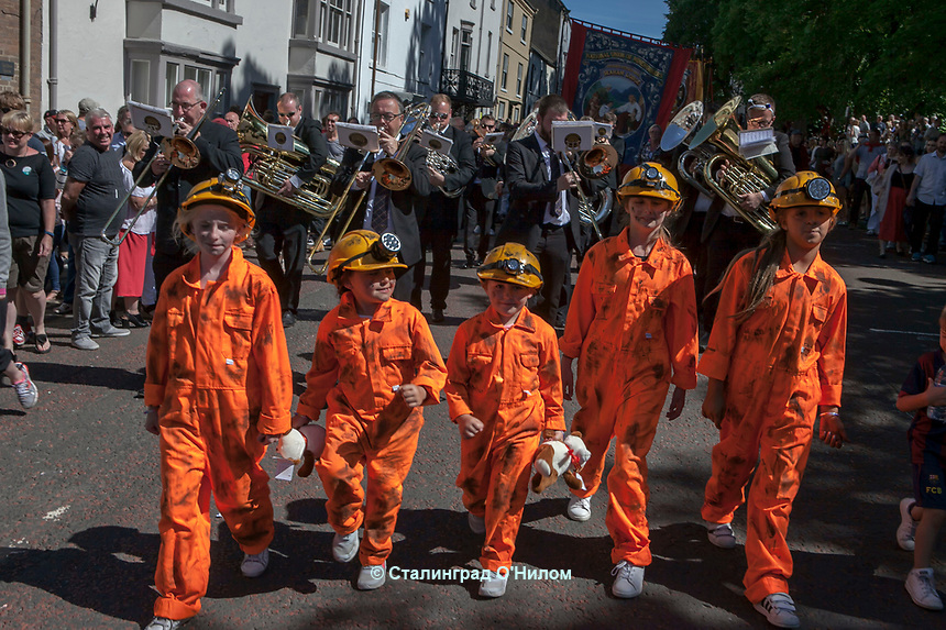 Durham Miners Festival July 2017