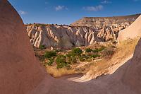 Gardens of the Red Valley in Cappadocia