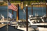 Boats at the Riverplace Marina, Portland, Oregon