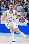 Real Madrid Facundo Campazzo during Turkish Airlines Euroleague match between Real Madrid and FC Barcelona Lassa at Wizink Center in Madrid, Spain. December 14, 2017. (ALTERPHOTOS/Borja B.Hojas)