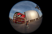Facade, interior, aspects of ARIZONA CARDINAL STADIUM. STADIUM ARIZONA CARDINALS, during the pre-season actions and the 2013 Guinness International Champions Cup. Stadium of the University of Phoenix, 08/01/2013.<br /> (Photo: Luis GutierrezNortePhoto.com)...<br /> Aspectos de fachada e interiores de ESTADIO DE LOS CARDENALES DE ARIZONA. STADIUM ARIZONA CARDINALS, durante las acciones de pretemporada y  del 2013 Guinness International Champions Cup.  estadio de la Universidad de Phoenix, el 01/08/2013.<br /> (Photo: Luis GutierrezNortePhoto.com )