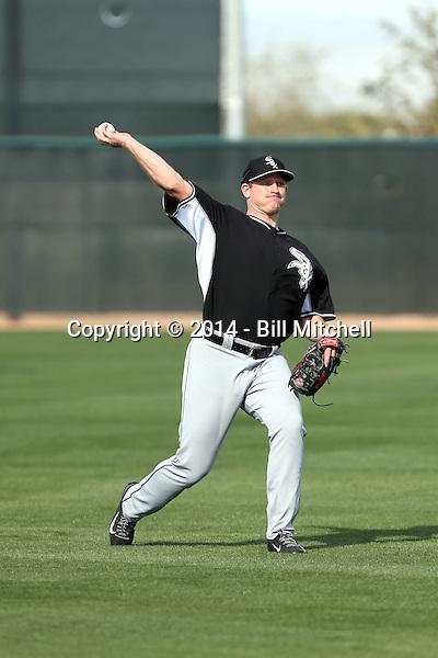 Erik Johnson -Chicago White Sox 2014 spring training (Bill Mitchell)