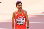 Masakazu Fujiwara (JPN), <br /> AUGUST 22, 2015 - Marathon : <br /> 15th IAAF World Championships in Athletics Beijing 2015 <br /> Men's Marathon Final <br /> at Beijing National Stadium in Beijing, China. <br /> (Photo by YUTAKA/AFLO SPORT)