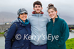 Enjoying a stroll in Blennerville on Sunday, l to r: Siobhan Enright, Dermot and Aoibhe King.