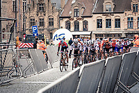 rolling through Veurne<br /> <br /> AG Driedaagse Brugge-De Panne 2020 (1.WWT)<br /> 1 day race from Brugge to De Panne (156km) <br /> <br /> ©kramon