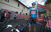 2013 Giro d'Italia.stage 11.Tarvisio - Vajont: 182km..David Millar (GBR)..
