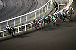 Jockey Jack Wong Ho-nam (L) riding Mythical Emperor during the race number 6 at Sha Tin racecourse on November 1, 2017 in Hong Kong, China. Photo by Marcio Machado / Power Sport Images